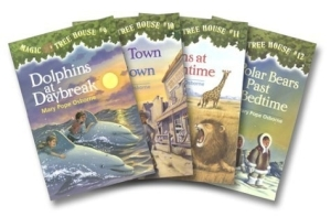 Magic Treehouse Series covers