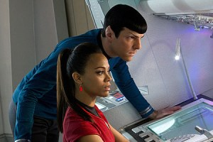 Spock and Uhura