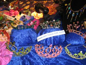 tiaras from Westercon Sealer's Room