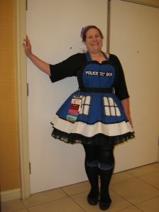 cosplay (TARDIS maid outfit)