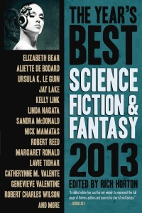 The Latest Edition of The Year's Best Science Fiction and Fantasy