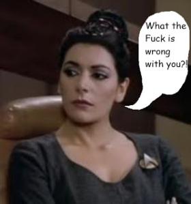 Angry Troi
