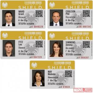 ID cards of SHIELD agents