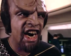 Angry Worf