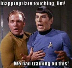 Spock and Jim