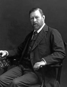photo of Bram Stoker