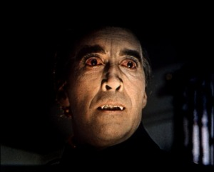 Christopher Lee as Dracula