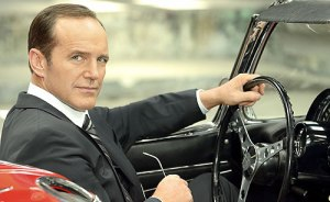Coulson in car