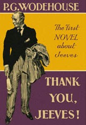 Cover of Thank You, Jeeves