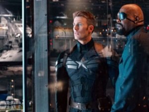 Steve Rogers and Nick Fury
