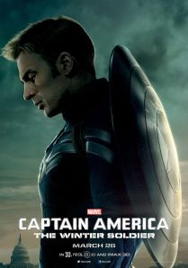 Movie poster of Captain America, the Winter Soldier