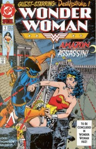 Wonder Woman Cover Art