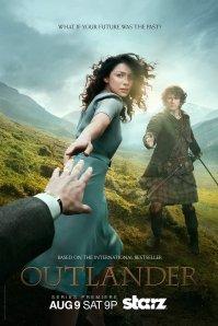 poster for Starz Outlander series