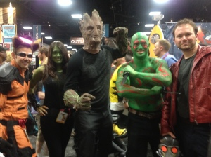 These cosplayers are probably very happy that Marvel announced that there will be a Guardians of the Galaxy 2!