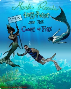 cover of Mark Reads Goblet of Fire
