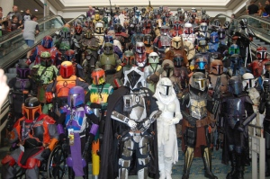 The Mercs at San Diego Comic-Con