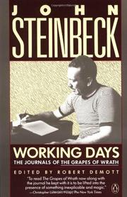 cover of Working Days