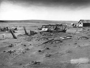 dust storm aftermath