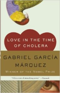 cover of Love in Time of Cholera