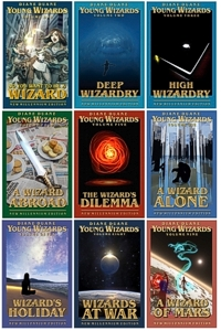 collection go Young Wizard covers