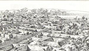 Drawing_of_Benin_City_made_by_an_English_officer_1897