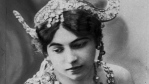 Close up of Mata Hari's face.