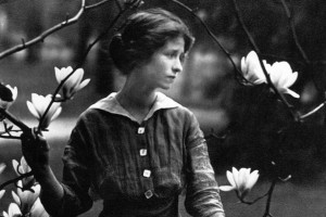 A young Edna St. Vincent Millay