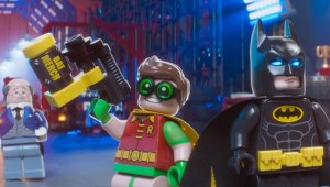Robin and Batman from Lego Batman Movie
