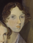 Portrait of Emily Bronte, by Branwell Bronte