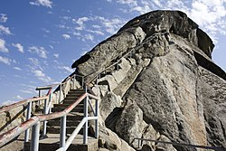 Moro Rock, showing the stairs