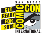 Ger Ready for 2018 Comic Con logo