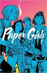 "cover of the comic book ""Paper girls"""