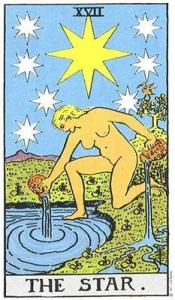 Rider-Waite-Smith Tarot, The Star