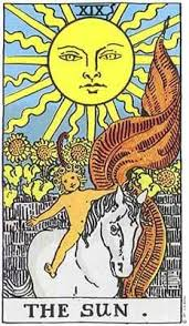 The Sun, Rider Waite Smith Tarot Card